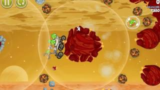 QSPX - Angry Birds Space (All bosses) part 1 By Alex