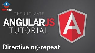 AngularJS Video Tutorial - How to use ng-repeat directive