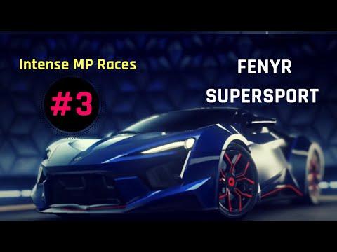Asphalt 9 | Intense MP Races No.3 (feat. Fenyr Supersport Rank 4333)