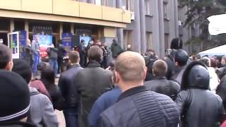 Макеевка Донецкая область Митинг шахтёров(, 2014-04-14T14:10:15.000Z)