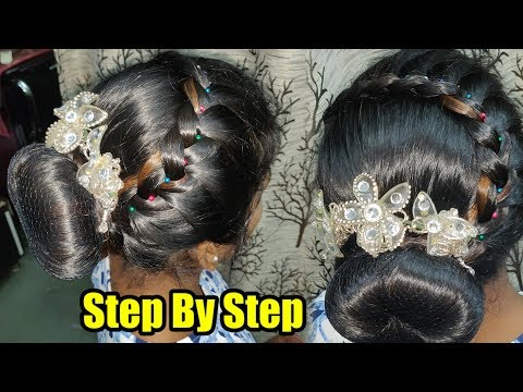 Hair Style Tutorial Video - How To Do Parlour Style Hair - Step By Step FULL VIDEO - 동영상