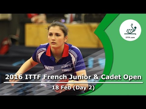 2016 French Junior & Cadet Open - Day 2 LIVE