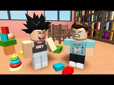 ROBLOX KINDERGARTEN - THE SCHOOL BULLY!