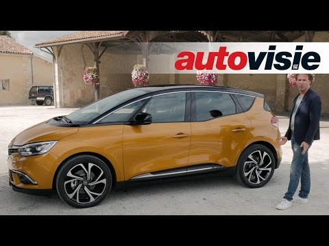 Review New Renault Scenic 2016 - by Autovisie TV