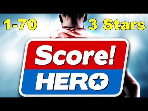 Score Hero Level 1-70 Walkthrough Gameplay - 3 Stars - Let's Play - Android / iOS