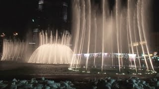 Dubai Musical Fountain with an Outstanding Instrumental!! Must See..