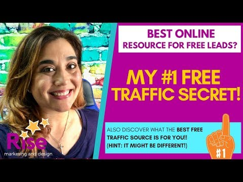 My #1 BEST *FREE* Resource for Quality Traffic & HIGHLY Targeted Leads for Online Marketing