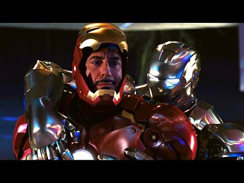 Iron Man vs Rhodey - Party Fight Scene - Iron-Man 2 (2010) Movie CLIP HD thumbnail