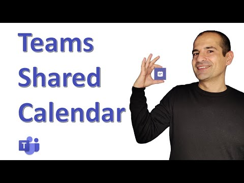 How to add a shared calendar to Microsoft Teams channel 📅