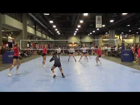 Abbie Dillon #8 Setter Capital Hill City Classic Day 1 LVA 17 open