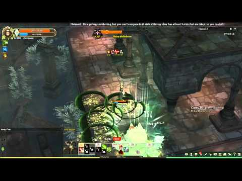 Tree of Savior - Soloing Level 160 Dungeon with Wugucci (Wugushi)
