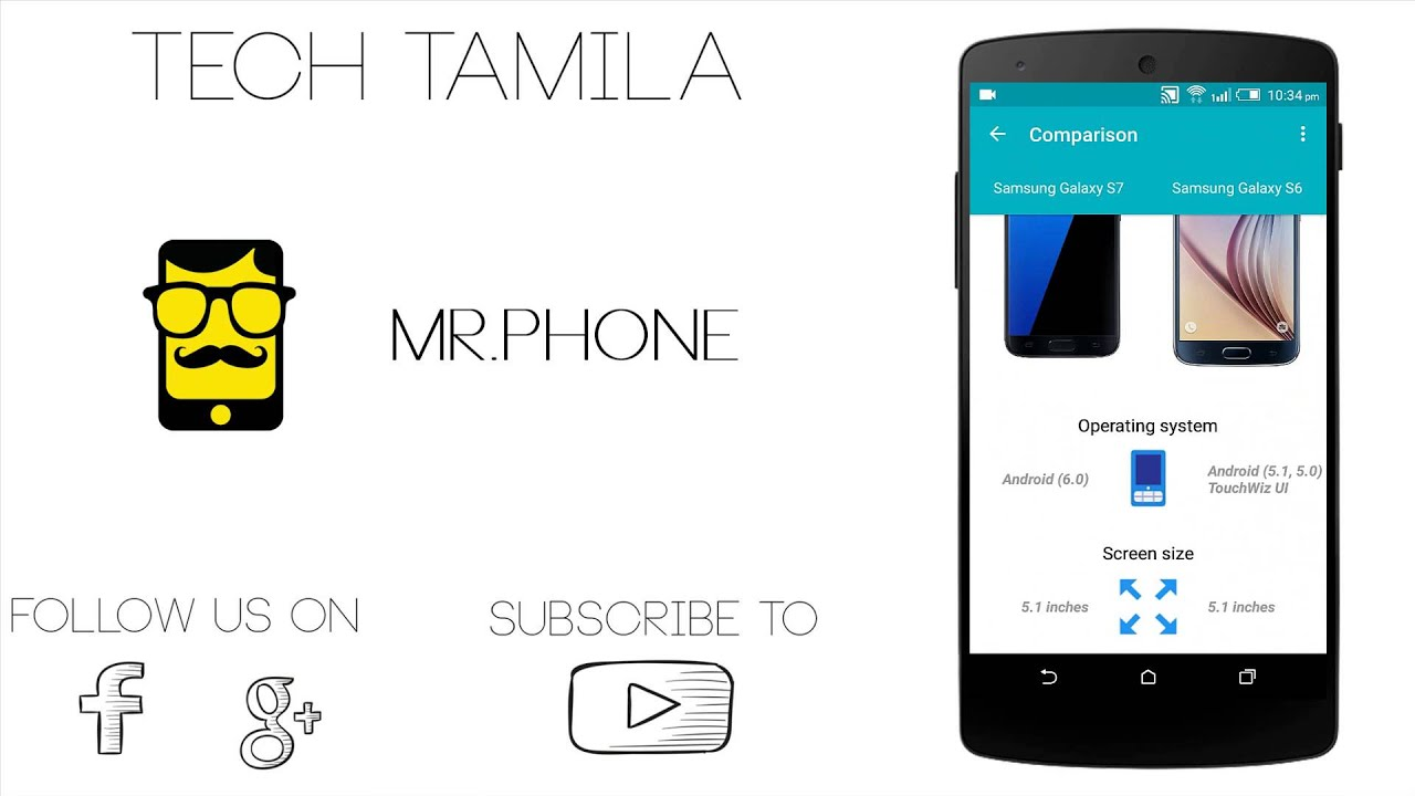 mr phone mobile comparison app android app review tamil tutorial