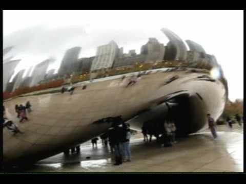 """Cloud Gate @ Chicago Millennium Park """"Awesome Art"""""""
