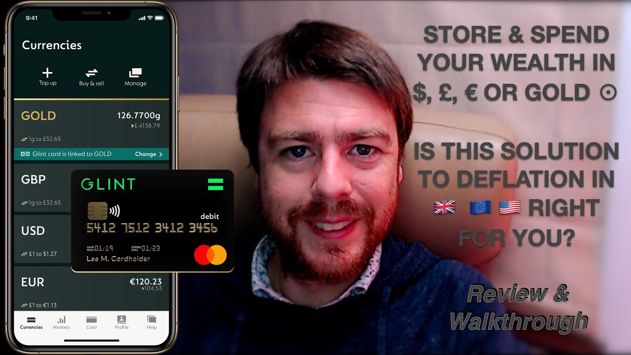 Download Glint -  $, £, € or Gold. Is this the solution to deflation in 🇬🇧 🇪🇺 🇺🇸? Review & Walkthrough