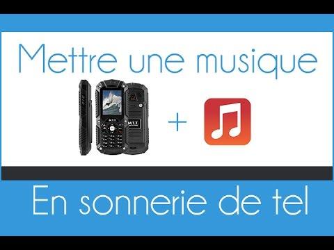 Mettre une musique en sonnerie sur un téléphone portable