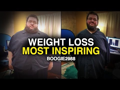 Never Ever Give Up – Boogie2988 MOST Inspirational Weight Loss | Motivational Video
