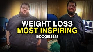 Never Ever Give Up - Boogie2988 MOST Inspirational Weight Loss | Motivational Video