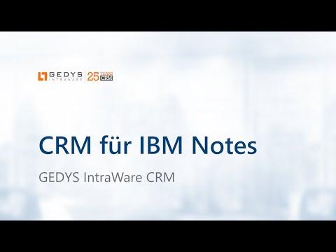 CRM für IBM Notes