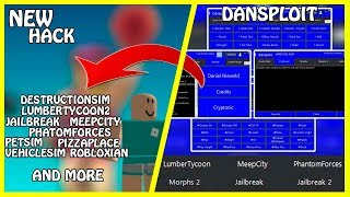[NEW] Roblox Hack | DanSploit [+80Tabs] | All Game Exploiting on Roblox | Full Lua / LuaC | [FREE]