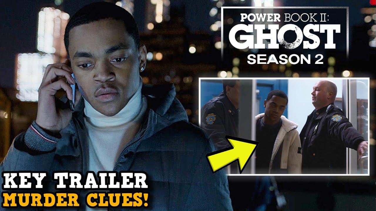 Download Power Book II: Ghost Season 2 'KEY TRAILER MURDER CLUES!' | Kanan & Rashad Tate Roles Explained