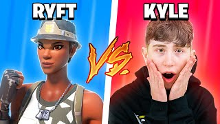 Piece Control Kyle Vs Ryft.. (fastest fortnite editor)