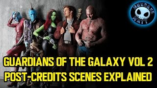GUARDIANS OF THE GALAXY VOL 2  Post-Credits scenes Explained (Spoilers)
