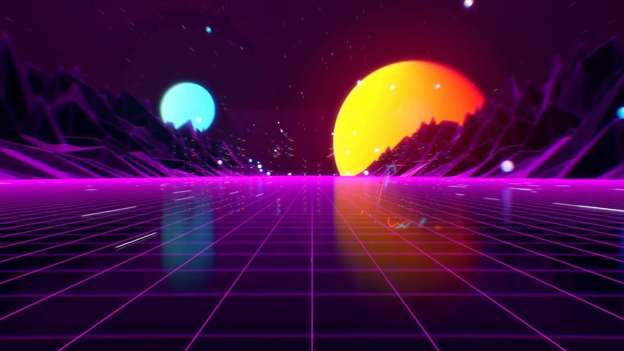 Retro Wave Intro | After Effects Template | Logo Stings