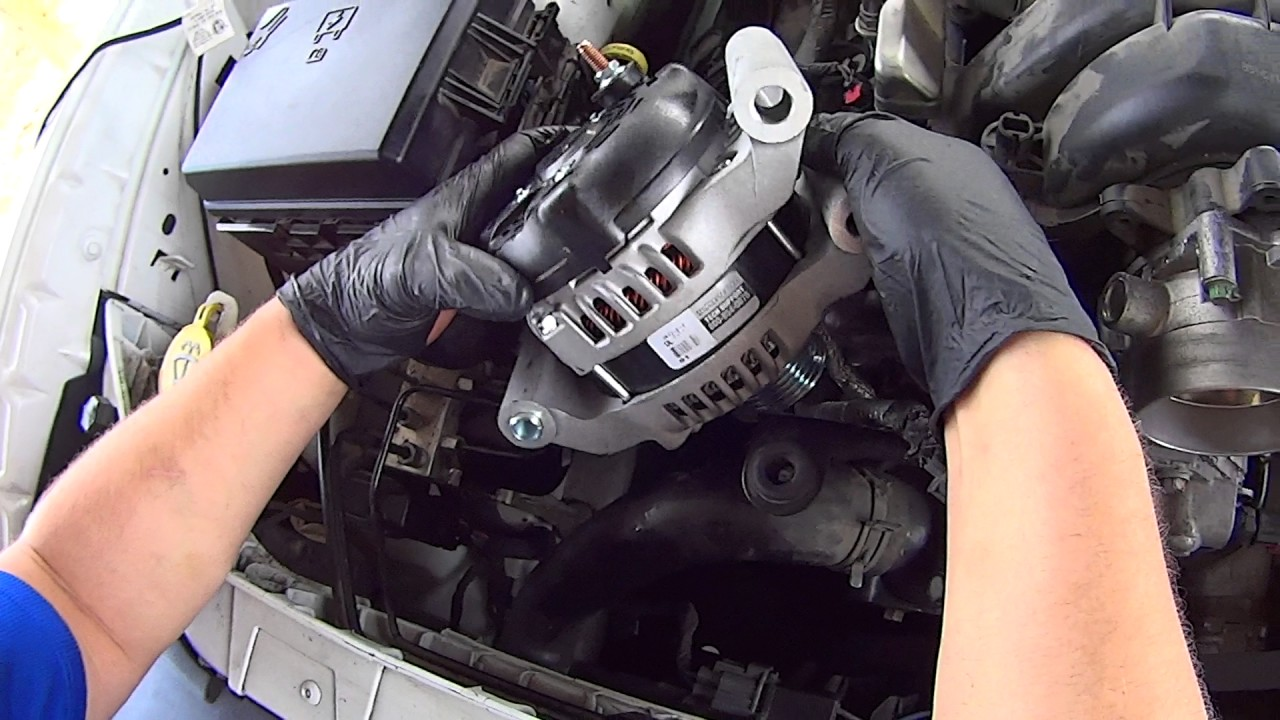 how to replace alternator on dodge challenger  charger
