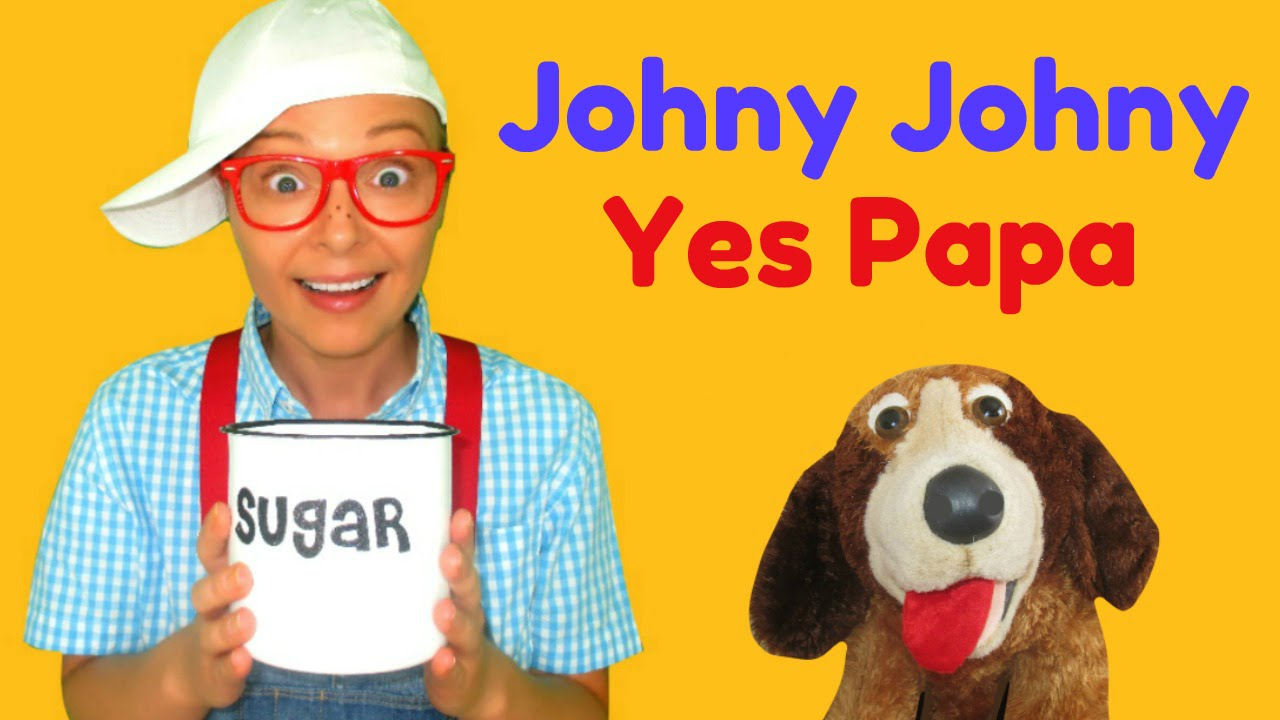 Johny Johny Yes Papa Nursery Rhymes For Children, Toddlers