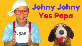Johny Johny Yes Papa Nursery Rhymes For Children Toddlers And Babies