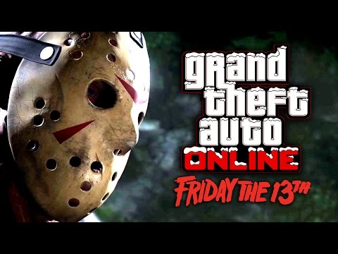 Friday the 13'th Costumul lui Jason in GTA Online