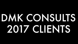 DMK Consults LLC - 2017 CLIENT REVIEW video