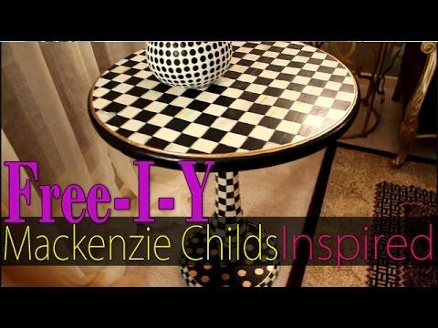 Diy Living Room Decor Mackenzie Childs Inspired Table