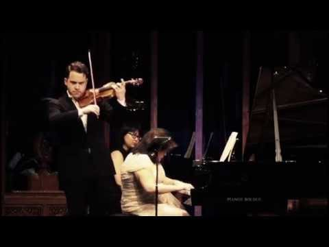 "Giora Schmidt - Beethoven Violin Sonata No. 5 ""Spring"" with Angela Cheng"