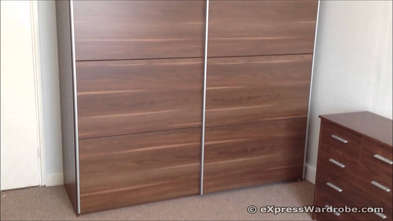 Tesco Smith Double Sliding Door Wardrobe Design Youtube