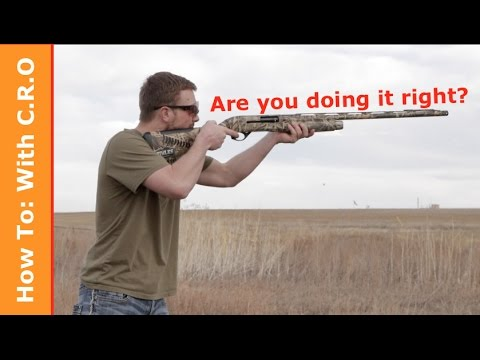Tips to Improve Your Shotgun Accuracy: How to with C R O
