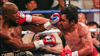 Floyd Mayweather VS Manny Pacquiao Fight/Celebrity Highlights. HoopJab Boxing