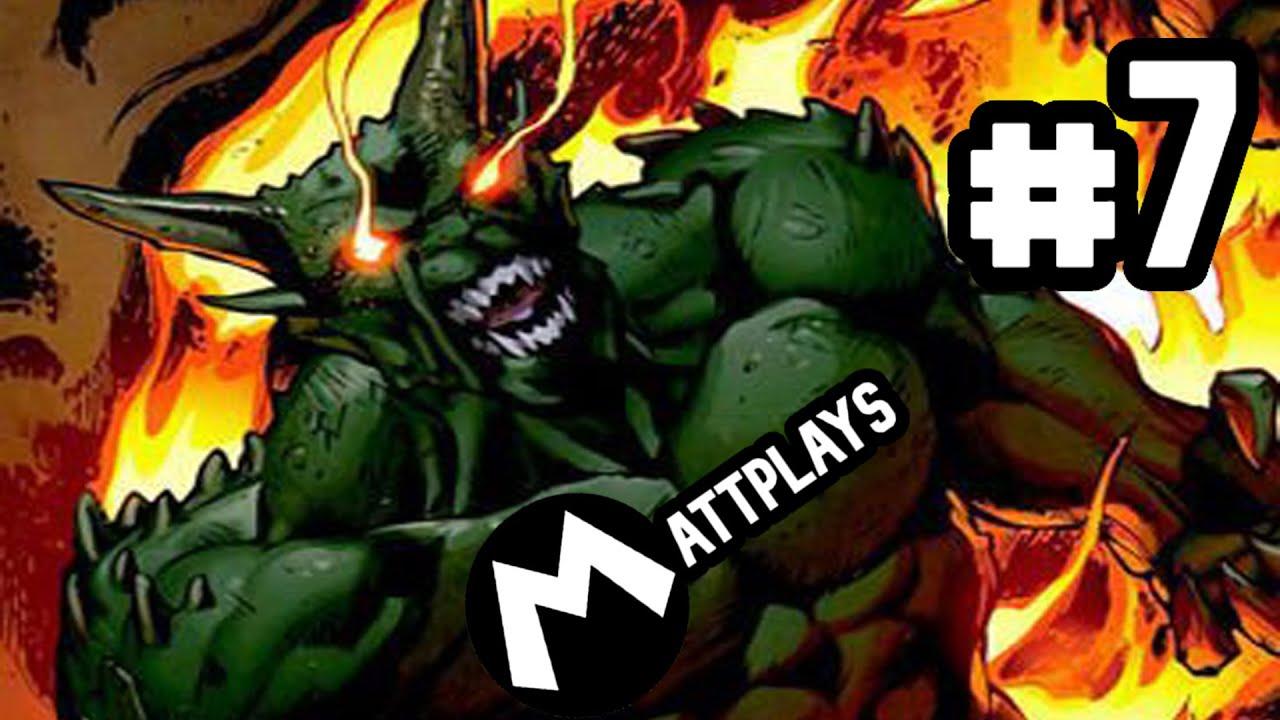 Ultimate Spider Man 7 El Duende Verde Que Tira Fuego D Youtube