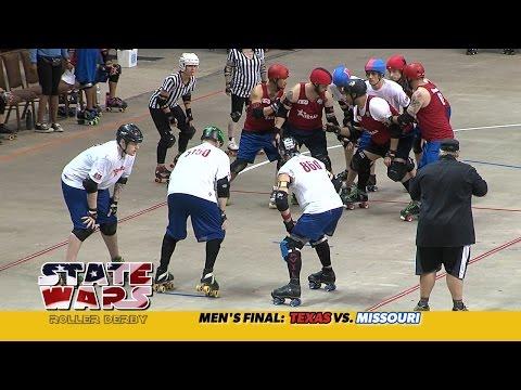 State Wars Roller Derby 2014: Texas vs. Missouri (men's final)