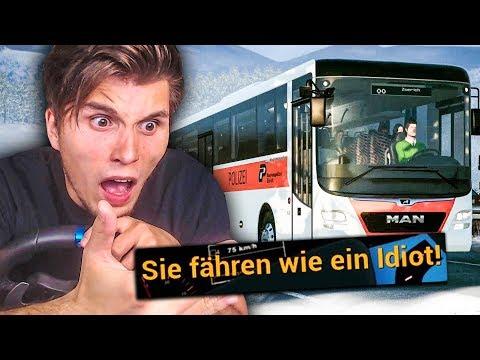 Ich werde von einer POLIZISTIN beleidigt! ✪ Fernbus Simulator |
