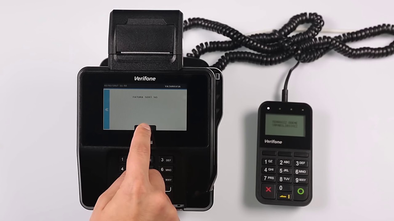 Olivetti Verifone MX 915 ECR - Faturalı Satış
