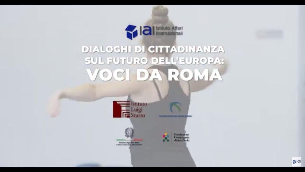 Dialoghi di Cittadinanza: Voci da Roma