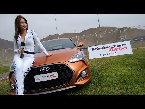 Nuevo Veloster Turbo 2016 de Hyundai Lanzamiento Per