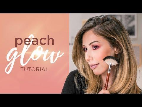 Tutorial Peach Glow | Roberta Peixoto