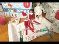 Elf on the shelf bring SANTA MAILBOX