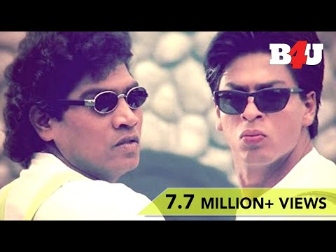 Best Comedy Scenes of Johnny Lever & Shahrukh Khan | Full HD 1080p