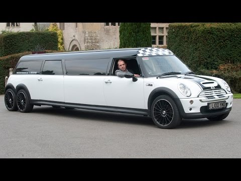 LIMOUSINE MADE OUT OF A MINI COOPER