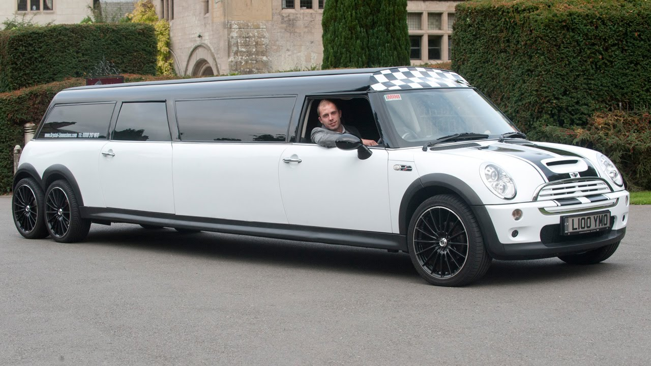 Limousine Made Out Of A Mini Cooper Youtube