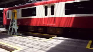 京急リフティング台車トラバーサ接近(2018.5.20)
