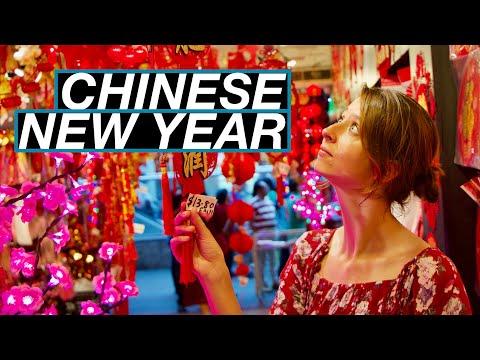 Chinesisches Neujahr In Singapur! - Schweine, Feuerwerk Und Wir Mittendrin | Weltreise Vlog #93